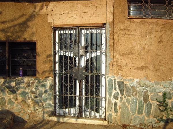 Puerta del estudio