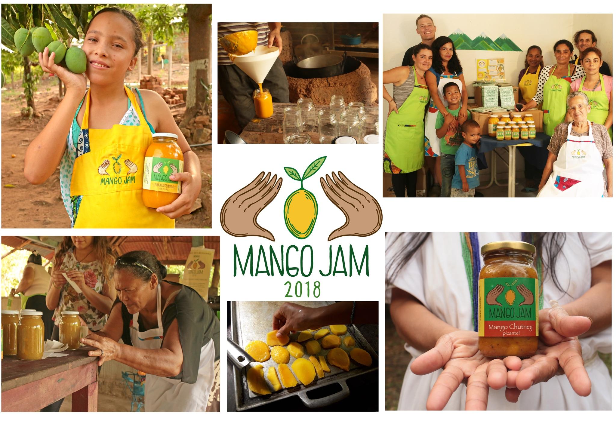 Invitación para apoyar el Mango Jam – red de financiación colectiva
