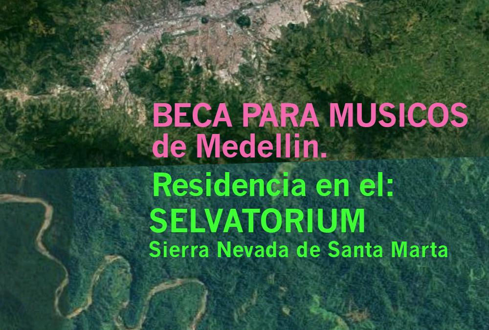 Beca para musicos de Medellin