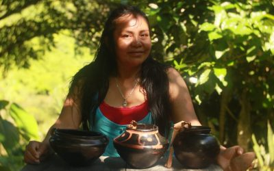 Taller de cerámica con Marcela Yukuna Yukuna